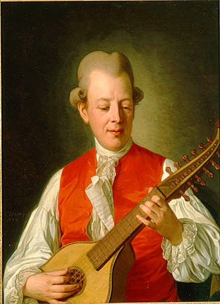 Carl Michael Bellman, 1740-1795. Signerad: P: Krafft fc: 1779 DigitaltMuseum. http://digitaltmuseum.se/021046506958