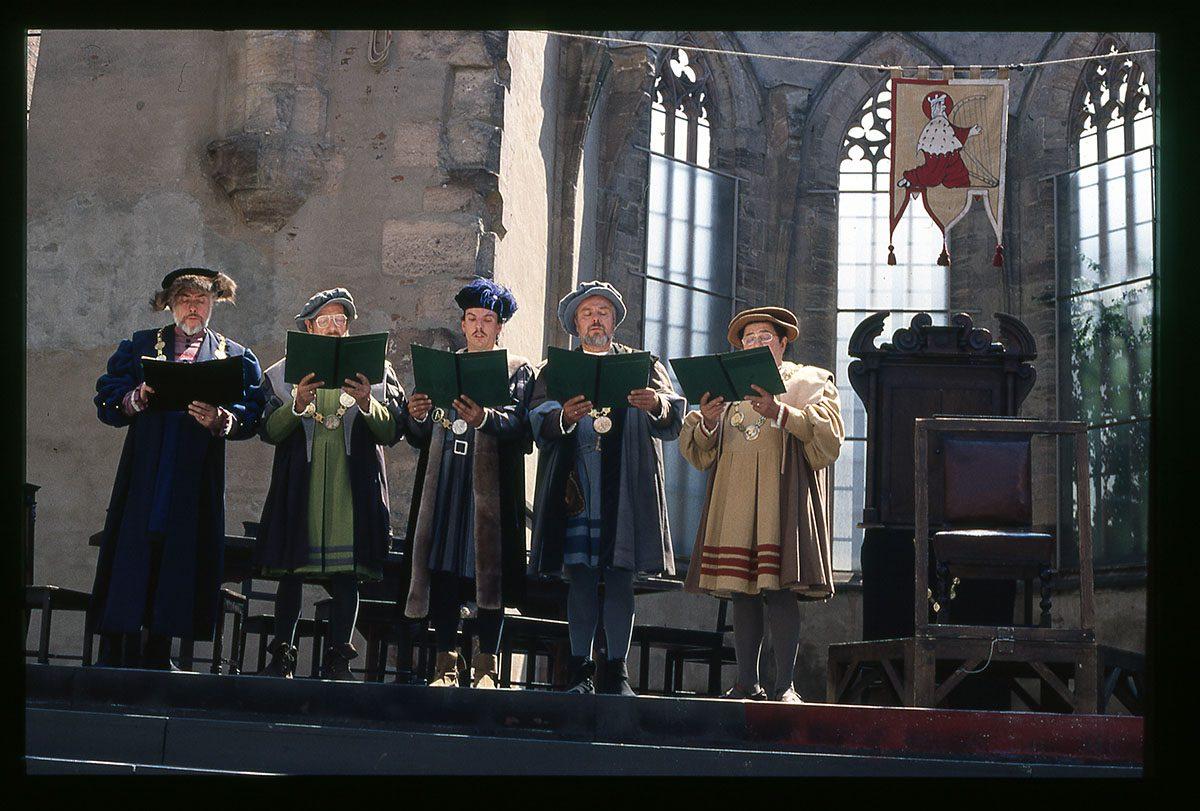 Wagners Mästersångarna   –  återblick på Hans Sachs egen tid (1500-talet)