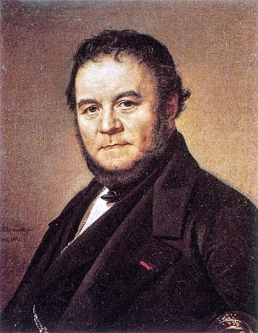 Stendhal, målat av Olof Johan Södermark (1790-1848) (Wikimedia Commons)