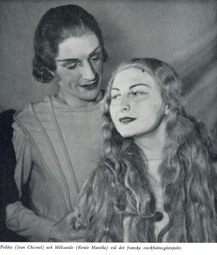 Pelléas och Mélisande vid franska stockholmsgästspelet.
