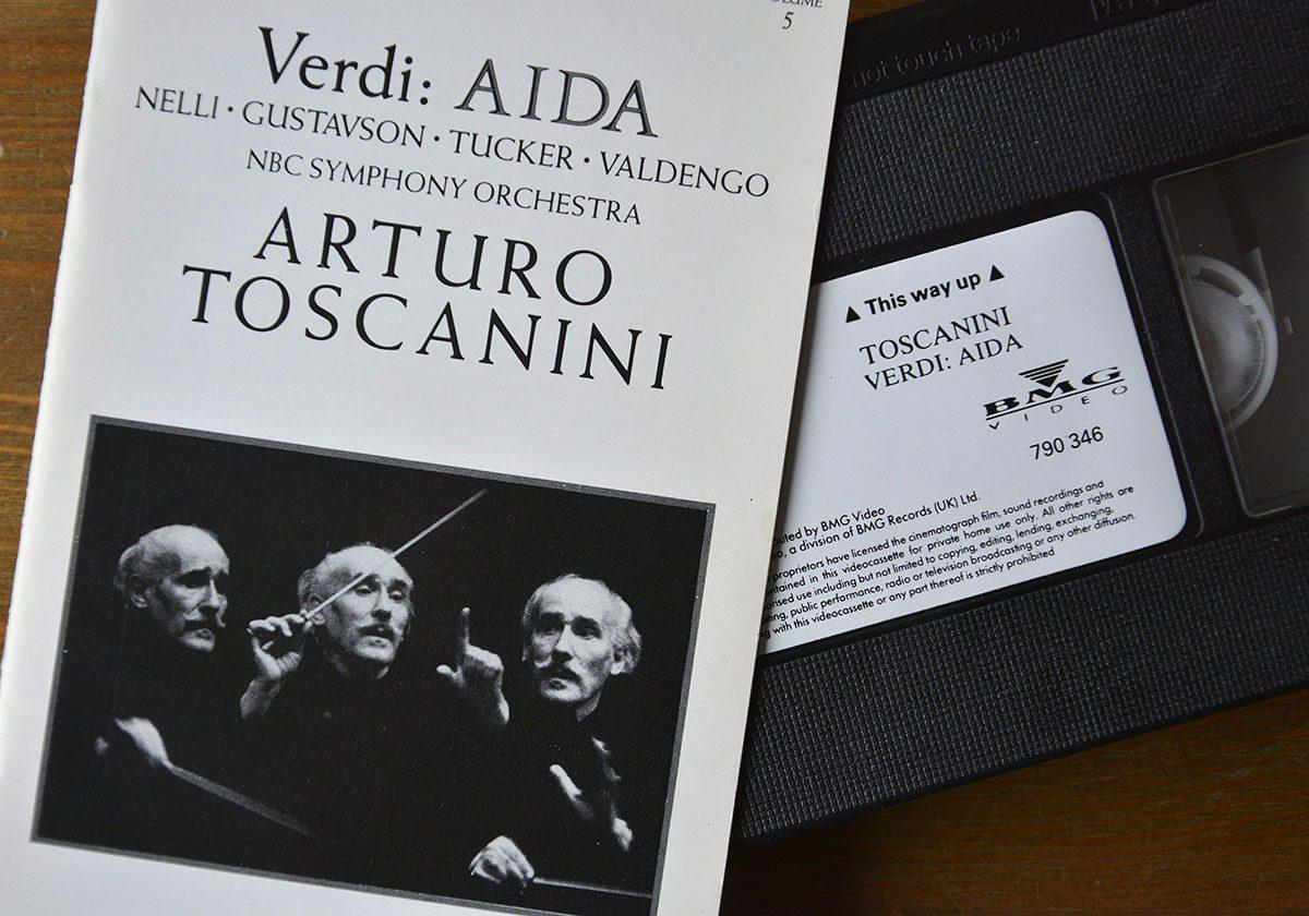 Toscanini inspelad