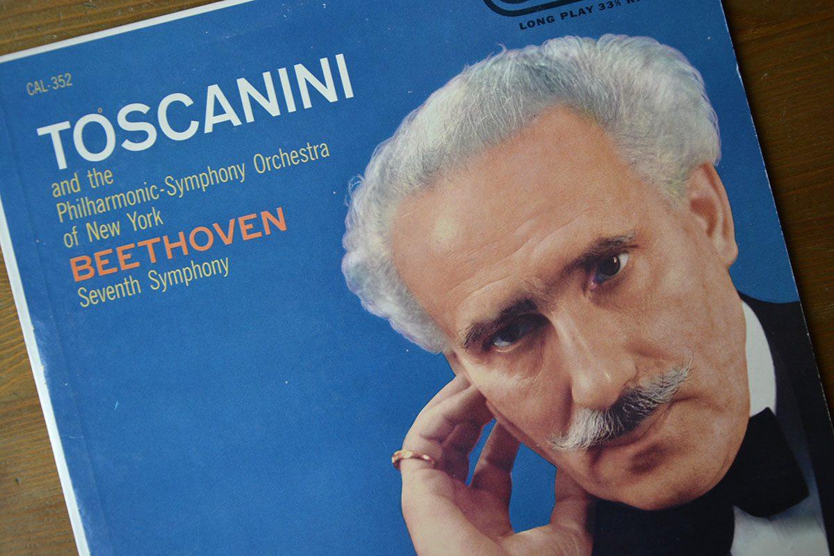 Toscanini-musik vald och kommenterad av Ingemar Schmidt-Lagerholm
