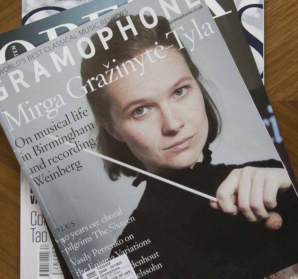 Mirga Gražinytė-Tyla – eine Litauerin deren Gatte das Schweigen ist.