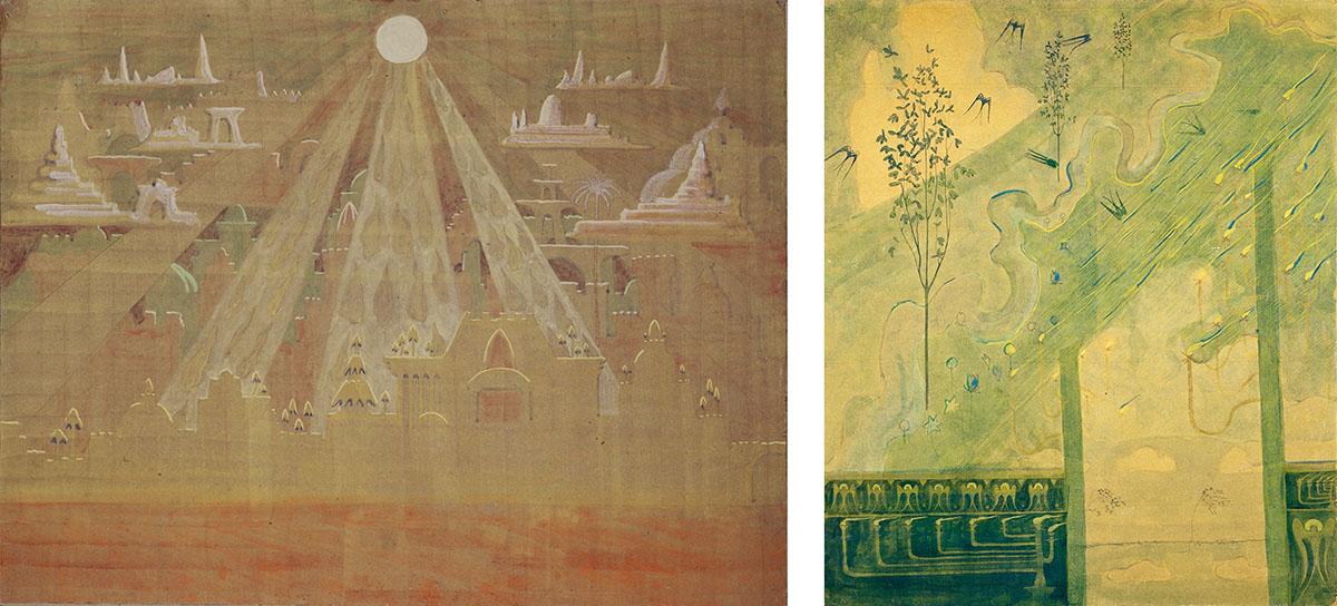 Mikalojus Konstantinas Čiurlionis – om Mozart också hade målat