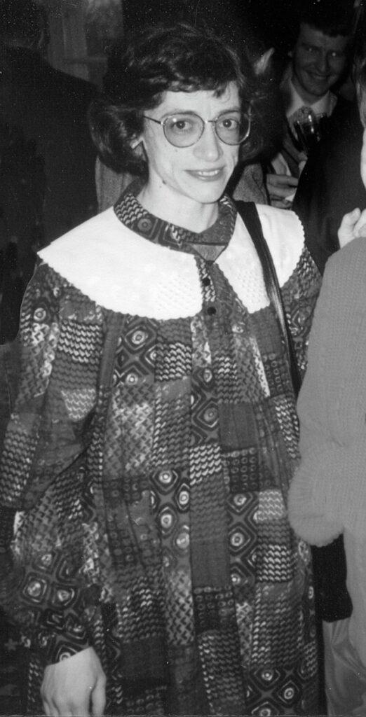 Vid 38 års ålder är Onutė Narbutaitė havande inte bara med sina musikaliska skapelser. Foto Ingemar Schmidt-Lagerholm tisdagen 19 april 1994.